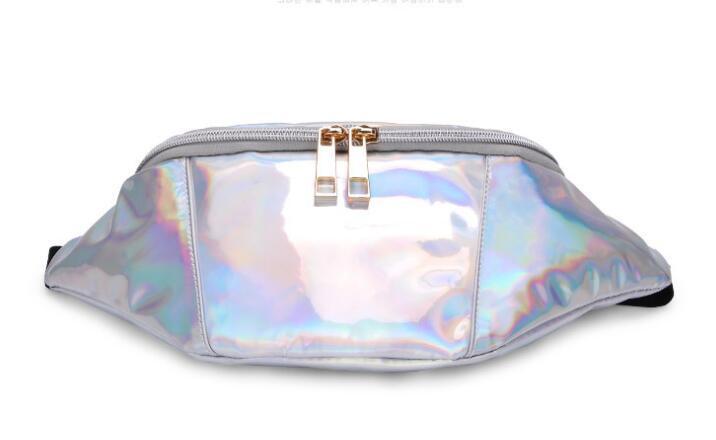 2020 Borse Donna Marsupio cadaveri trasversali Borse Materiale Laser borse di alta qualità una spalla Vita Cassa Bag //