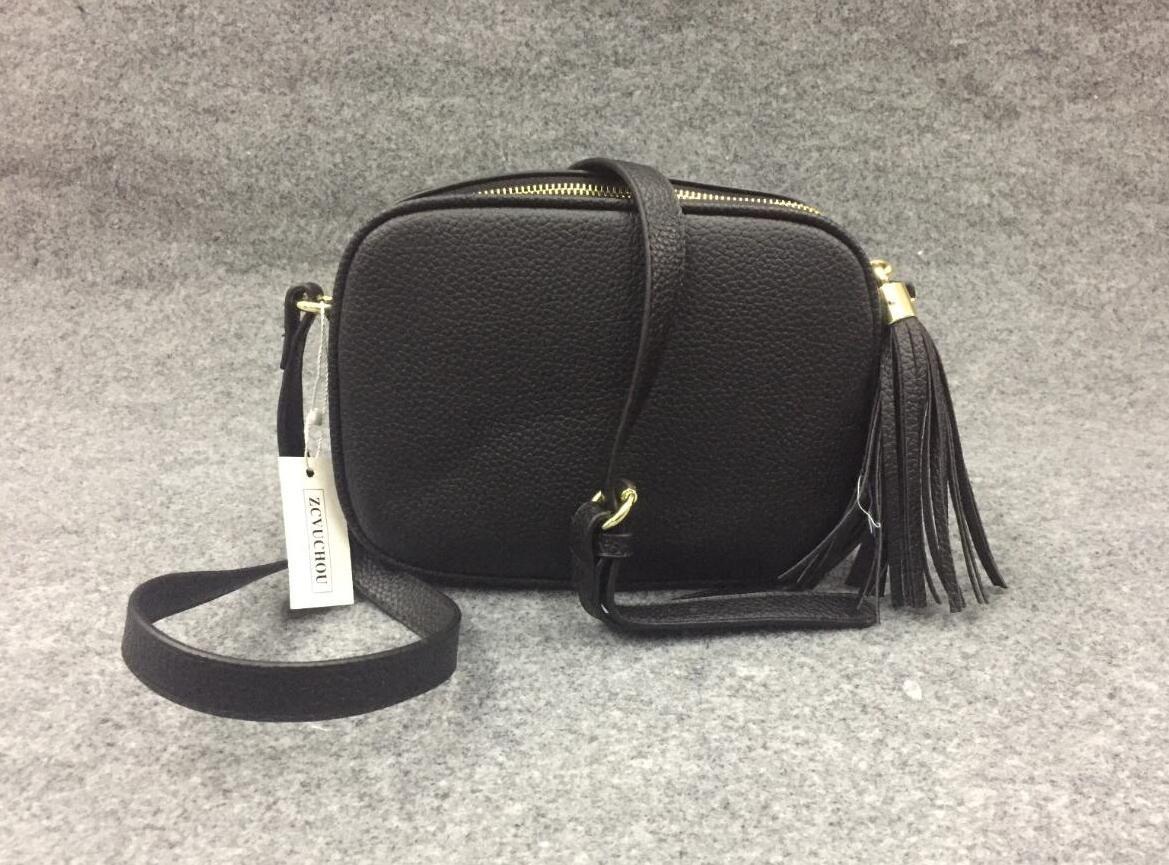 El más nuevo estilo más popular Soho bolsa de Disco con flecos bolsos del bolso de las mujeres bolsas de diseñador FEMININA pequeña bolsa de la cartera de los 21CM