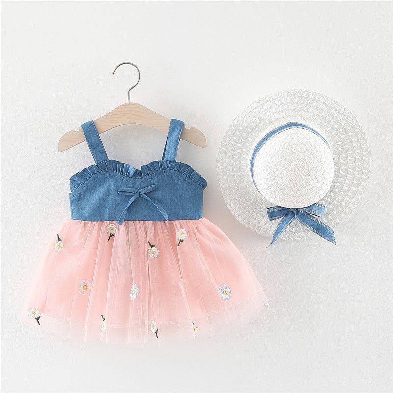 Летние детские платья 0-3Т девочки платье узор печать лимон мультфильм день рождения платье женское младенца летняя одежда детская девушка одежда