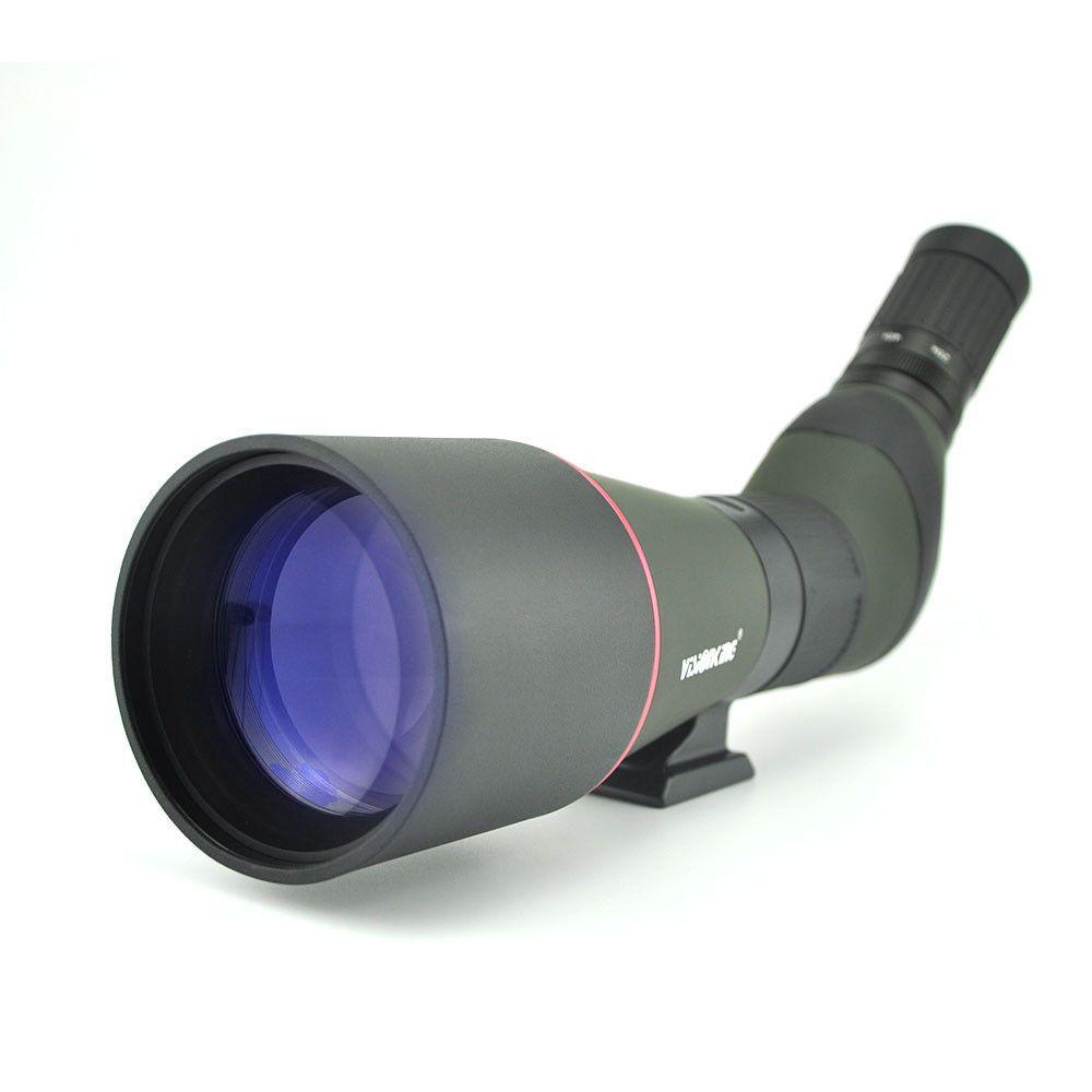 Monokular 20-60x80 wasserdicht BAK4 Zoom Spotting Scope Visionking Birdwatching Teleskopstativ Jagdunterstützung Camping Vogelbeobachtung