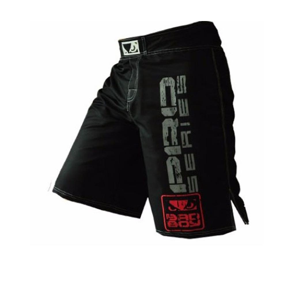 Siyah Beyaz Muay Thai Boks spor eğitim pantolon şort boxeo KickBoxtan şort Tiger Muay Thai ucuz mma şort boks