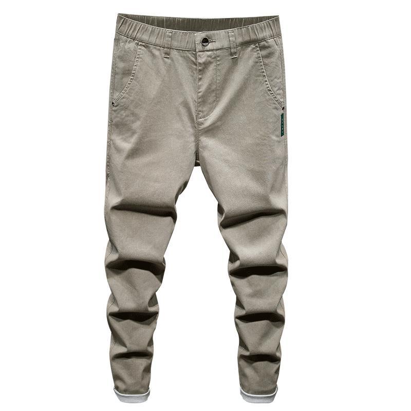 2020 новые мужские стрейч Slim fit джинсы мода повседневная Slim Fit джинсовые брюки Брюки мужская брендовая одежда эластичная талия молния