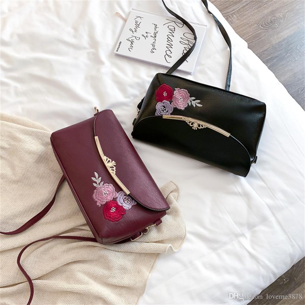 Verão Saco De Couro De Luxo, Bolsas, As Mulheres Sacos De Designer Feminina De Ombro Messenger Bag Impressão De Flor Sacos Para As Mulheres Sac Femme