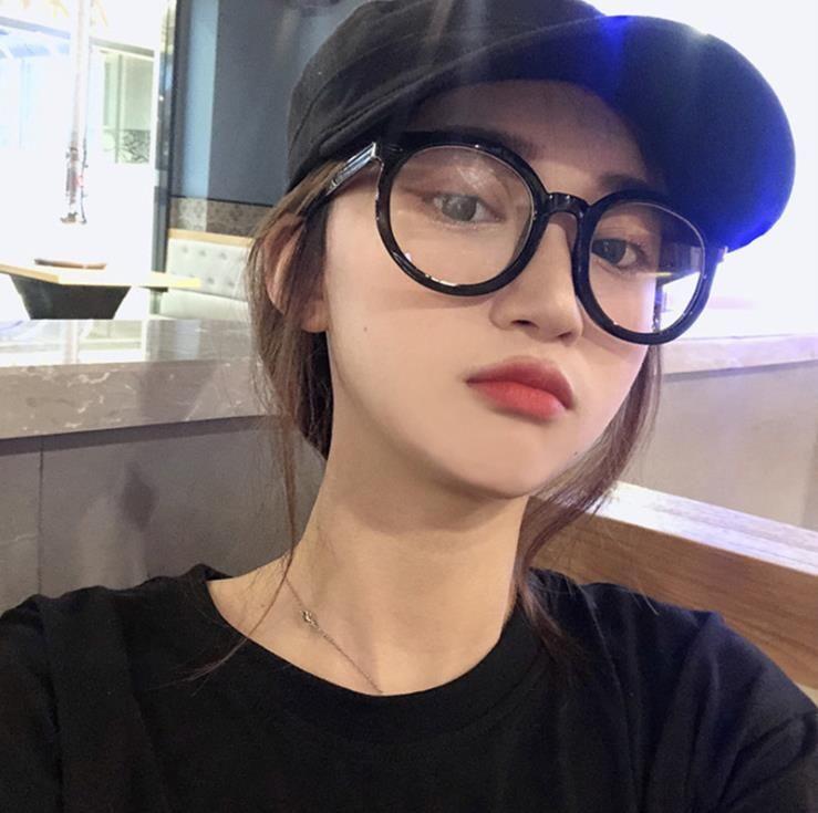إطار نظارات كبيرة السهم أزياء شخصية مرآة مسطحة مكافحة الضوء الأزرق إطار نظارات