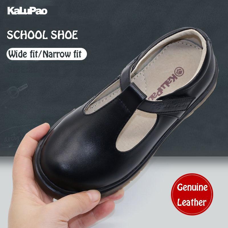 2019 schule Ausgabe Schuh Primäre Knöchel T-strap Mode Prinzessin Slip-on Kinder Sneaker Lederschuhe Für Mädchen Schuhe Größe 28-39 Y19062001