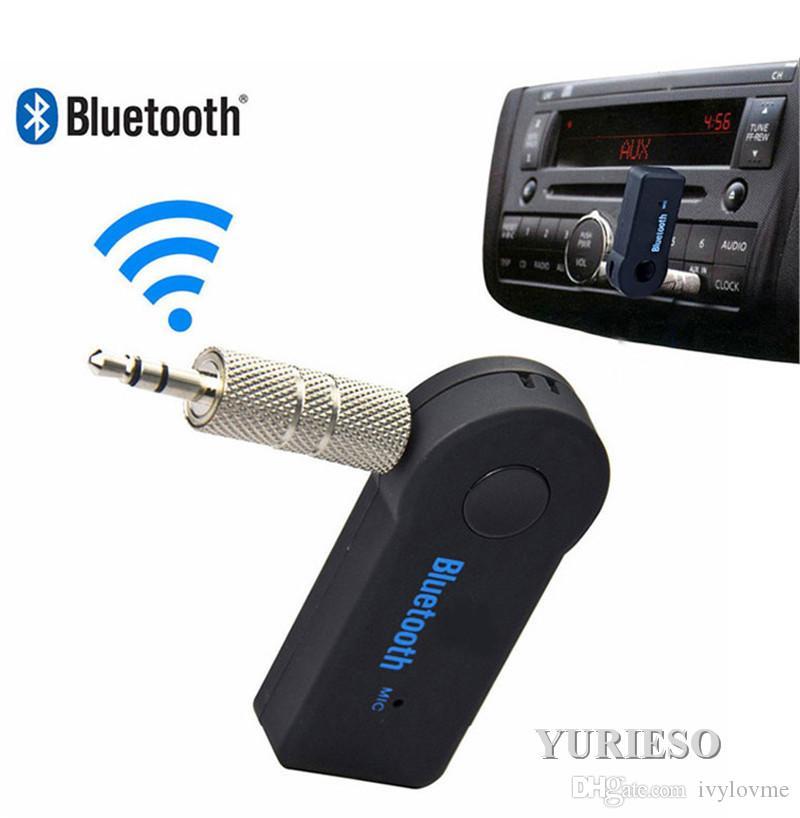 جهاز استقبال مكيف صوتي لموسيقى البلوتوث لسيارة 3.5 ملم أو مكبر الصوت في المنزل MP3 نظام صوت السيارة Hand Free Calling Built-in Mic