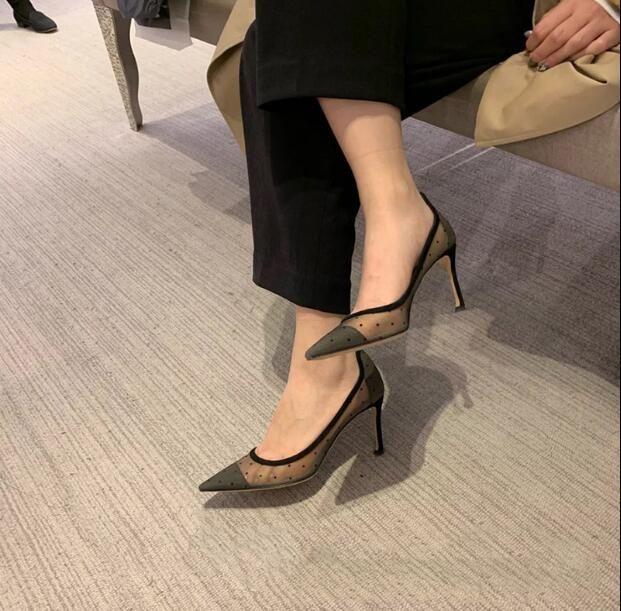 2019 neue Mode Spitze Wunderschöne Hochzeit Schuhe Absatzpumpen Abend Party Schuhe Nigh Club Coole Schuhe Hohl Spitze Stickerei