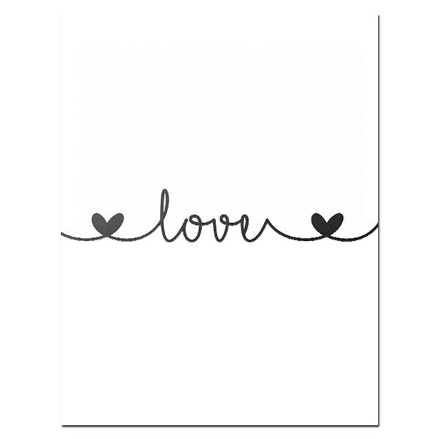 2020 Sketch Wall Art Line Drawing Print Minimalist Simple Fashion Canvas Poster Black White Painting Love Quote Wall Picture Decor From Home2010 7 31 Dhgate Com