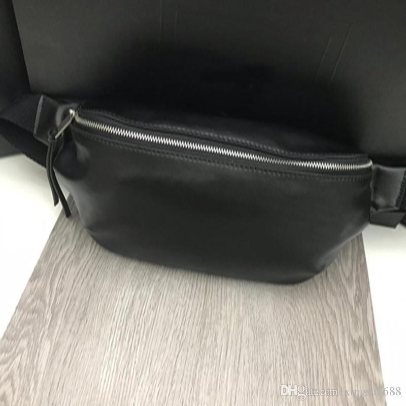marsupio progettista del mens di alta qualità della cinghia dal design di lusso borsa sac banane progettista Fannypack pelle marsupio sacchetti sacchetto crossbody petto degli uomini borse