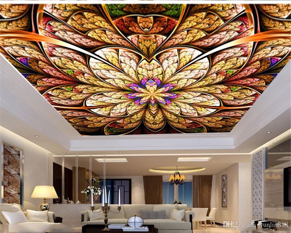 Фото обои Большого Красивый Нежный цветок украшение Zenith Премиум шелк обои