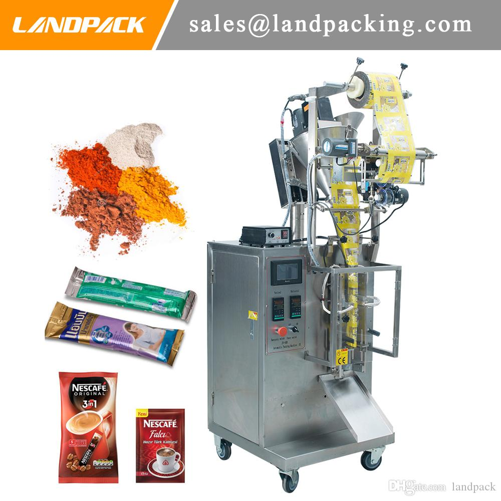 Çay Tozu Dikey Form Doldurma Contası Otomatik Toz Tartım ve Paketleme Makinesi