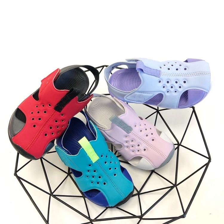 Little Kids Sandal Sunray Protect 2 water-resistant upper soft foam cushioning Infants Boys Girls Photo Blue Psychic Pink Toddlers Sandals