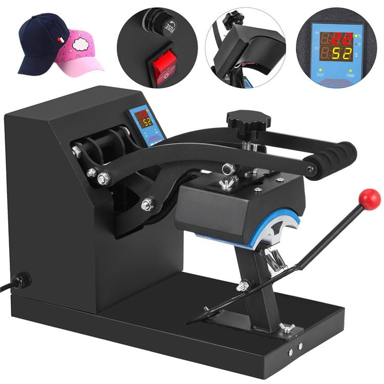 """5.5 """"x3.5"""" سوينغ بعيدا نقل قبعة البيسبول كاب الصحافة الحرارة تسام آلة الصحافة الحرارة"""