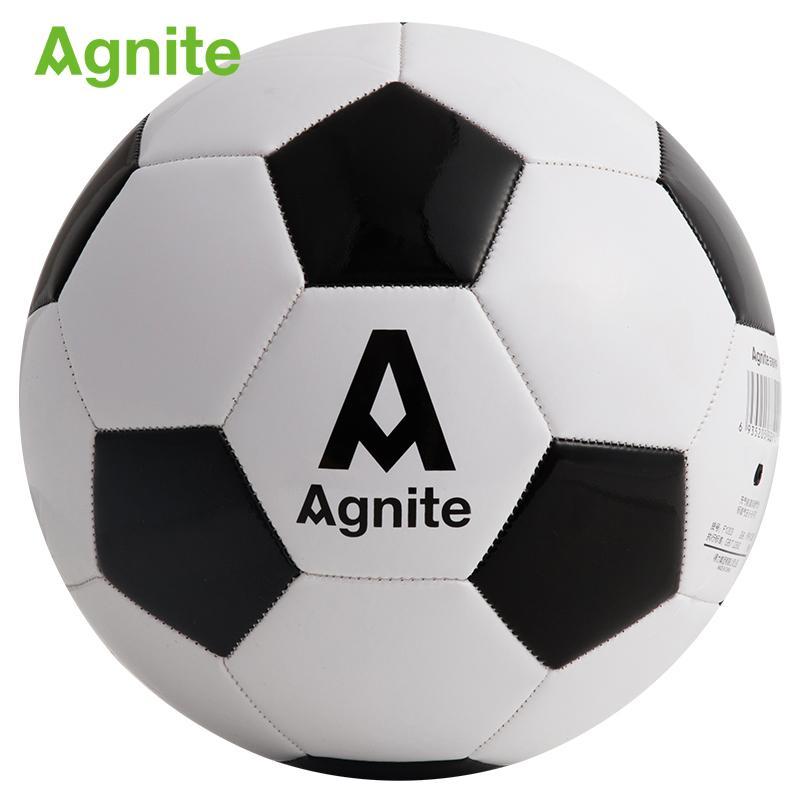 Agnite 2018 공식 축구 크기 5 PVC F1203 성인 축구 훈련 내구성 축구 공 다양한 날씨에 적합