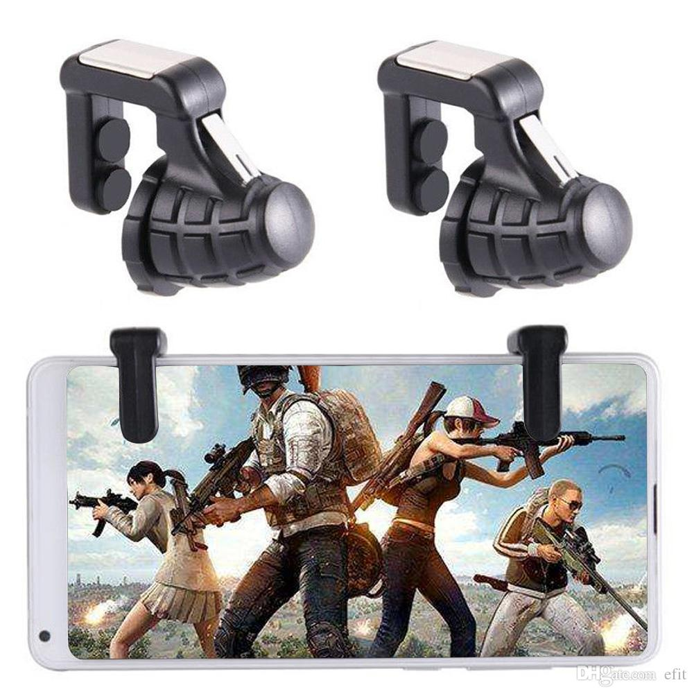 Fire Button Shooter Accurate Fast Finger Press Mobile Phone Use Game Triggers Controller Key Sensitive