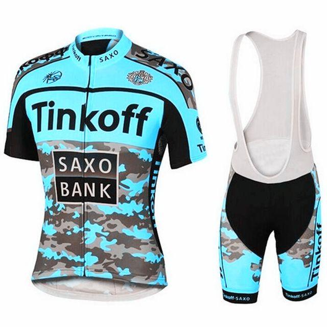 NOVO 2019 Saxo Bank Tinkoff Cycling Team Jersey Define MTB da bicicleta respirável calções Roupa Ciclismo Suit 9D GEL