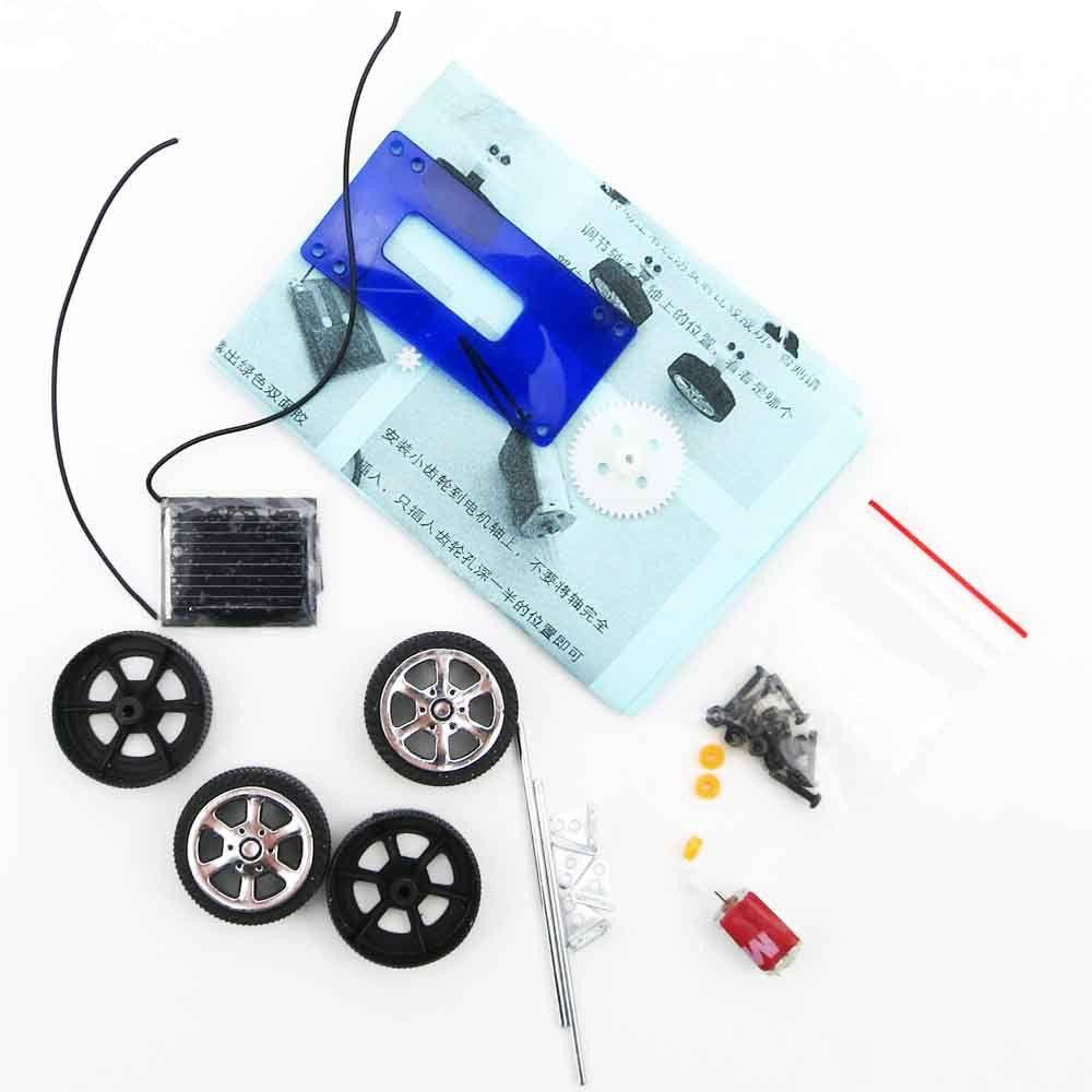 brinquedos solares brinquedos carro 1 Set Kit mini solar brinquedo movido carro diy crianças DIY Kit Car Educação Infantil Gadget Hobby engraçado A521