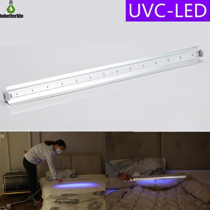 2020 Led Uv Tube Light Uvc Ultraviolet Lamp 10w 110v 220v