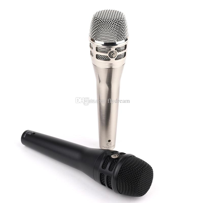 KSM8 Wired Microphone Dynamic vocal Microphone Professional karaoke Handheld Microphone for Live Stage Performance show Mic
