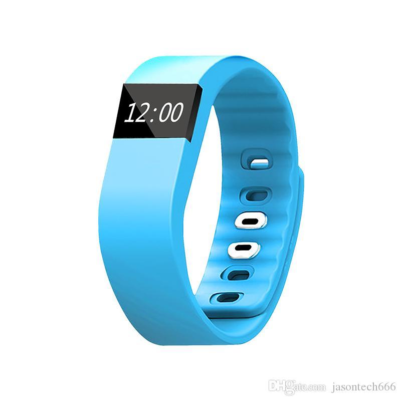 Mira Flex Flex Bluetooth inteligente pulseras Fibit TW64 inteligente pulsera rastreador de ejercicios de Fitbit para iOS Android