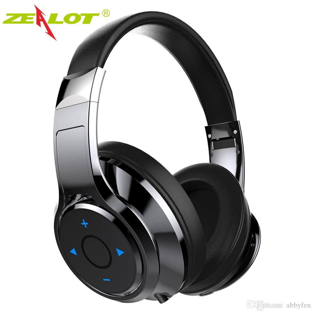 New Zealot B22 Over Ear Bluetooth Headphone Stereo Bluetooth Headset Wireless Bass Earphone Headphones With Mic For Phone Best Headphones Under 100 Head Phones From Abbyfen 33 87 Dhgate Com