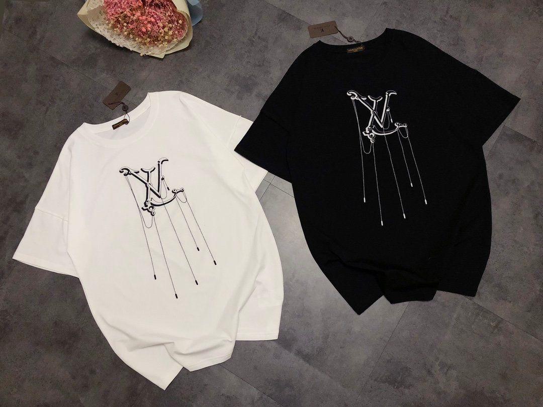 Free Shipping Brand Shirt Hot Sell Designer Women Mens T-shirt Fashion Casual Summer Top Tees High Quality Luxury Girl Shirt 202003211Y