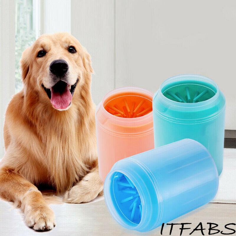 Super Cup Mini Dog Fuß Reiniger Feet Waschmaschine Bürsten Hundepfote Hundereinigungsbürste Beste