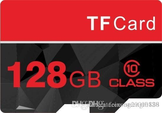 القدرة الحقيقية 32 جيجابايت -128 جيجا الفئة 10 مايكرو sd بطاقة sdhc tf عالية الأداء ذاكرة فلاش