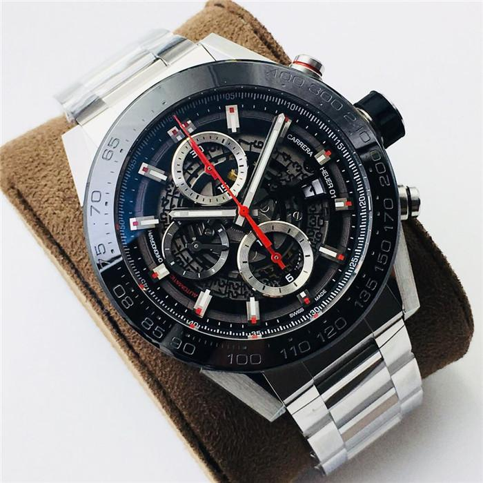 XF fabrika kaliteli marka çapı 45 mm münhasır özel otomatik makine 2824 çekirdek içi boş tasarım tasarımcı saatler saatler