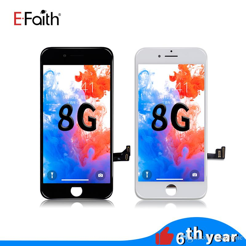 EFaith High Quality LCD Screen For iPhone 8 LCD Display Touch Digitizer Assembly Repair Replacement For Phone 8 & Free DHL Shipping