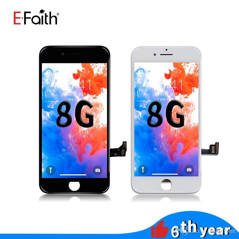 شاشة LCD EFaith عالية الجودة للحصول على 8 العرض LCD تعمل باللمس الجمعية محول الأرقام استبدال إصلاح للحصول على الهاتف 8 دي إتش إل الحرة الشحن