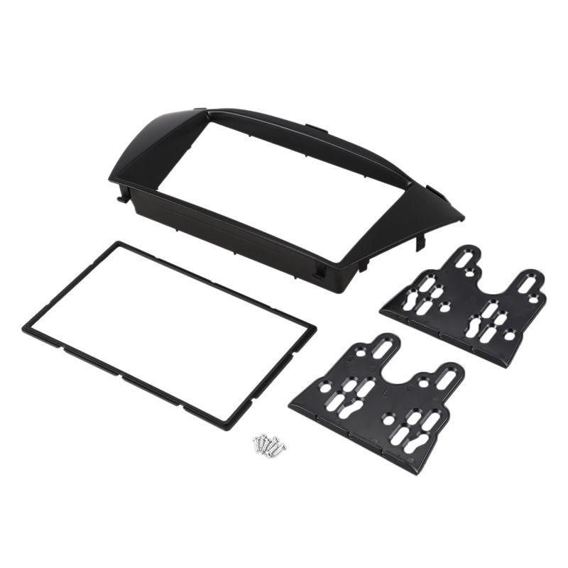 2010TUCSON IX35 를 위한 제일 근사한 두 배 Din 차 라디오 끈 손질 장비는 구조 DVD 패널 입체 음향 공용영역을 설치합니다