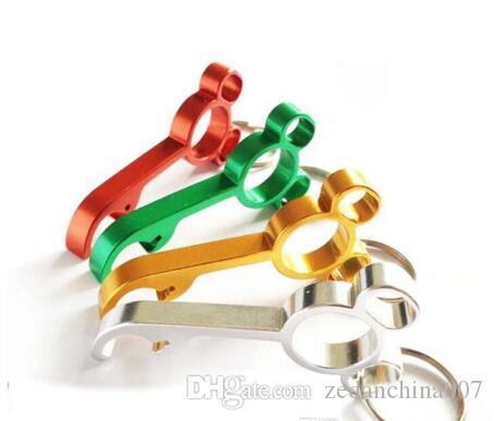 Nuova lega di alluminio dell'incisione del laser Mini mouse a forma di apri di bottiglia Opener portachiavi regalo di nozze del partito