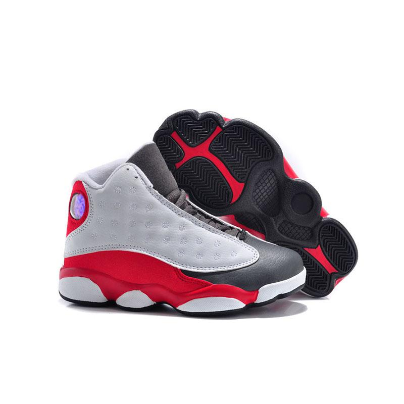 Cheap Kids 13 13s Basketball Shoes Chicago He Got Game Bred Altitude Dmp Boys Girls Sneakers Children Baby Sports Shoes Size 11c-3y