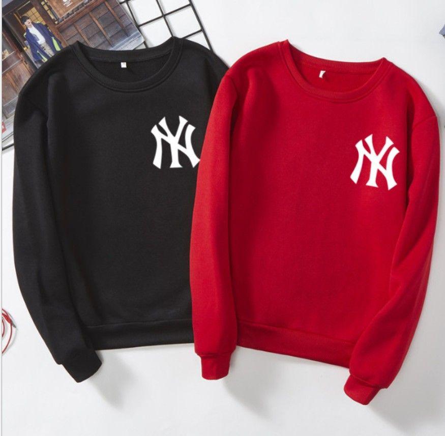 7 colors Unisex S to XXXL Free shipping Women Hoodies Sweatshirts Pullovers Sweater Letter Print Hip Hop Street wear Mens Sweatshirt