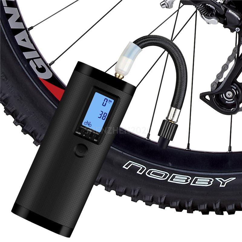 NEWO AP2 Intelligent Portable Portable Pompe à air multifonction Affichage numérique Affichage numérique sans fil Pompe à air de vélo Smart 12V pour vélo et voiture 1pcs