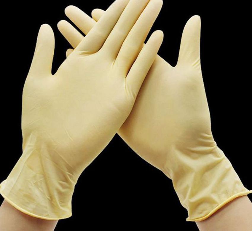 Одноразовые латексные перчатки резиновые для чистки Пищевые Перчатки резиновые Универсальные бытовые Сад Защитные перчатки 3 ЦВЕТА KKA7889