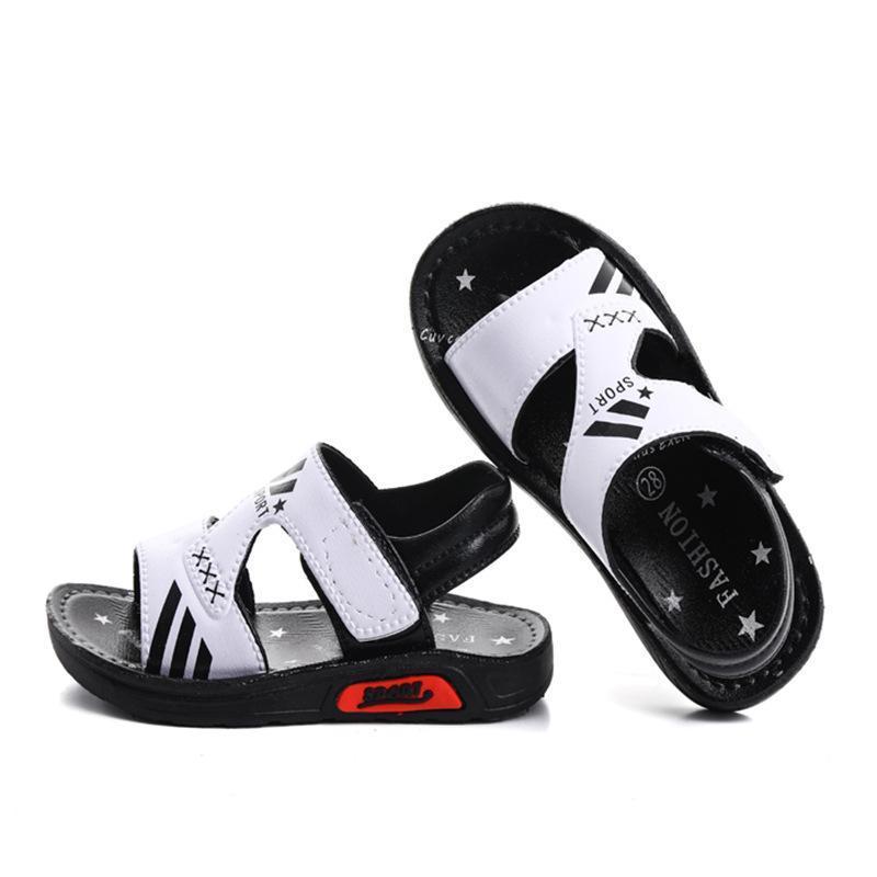 Nuovo 2019 Scarpe per bambini Scarpe moda Big Boys piatto sandali della spiaggia di estate dei capretti antiscivolo Ragazzi Student Sport