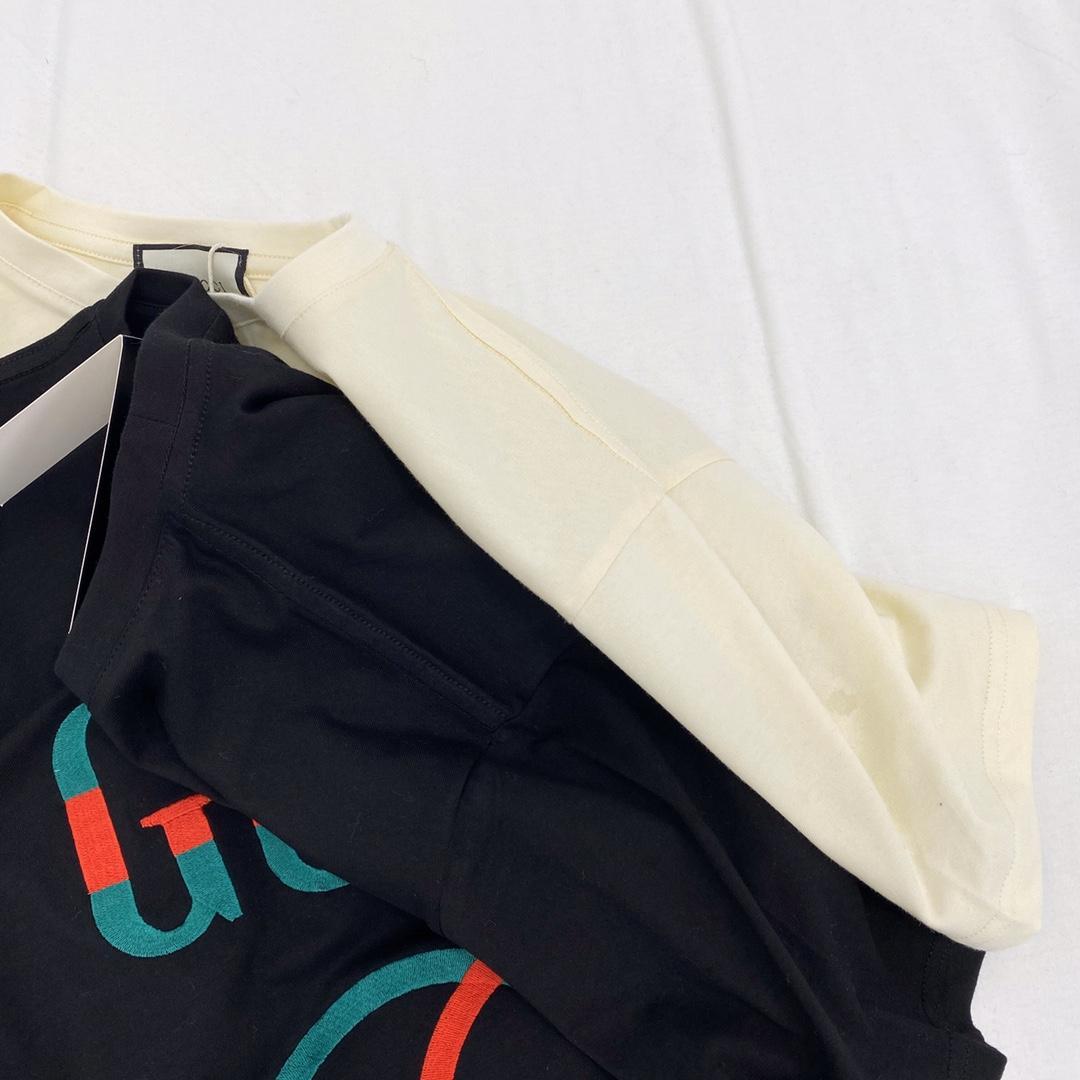 Mulheres Designer de T-Shirts Casual 2020 nova carta de Verão Carta Impressão T-shirt Moda De Luxo T-Shirt de Alta Qualidade Preto Branco 20