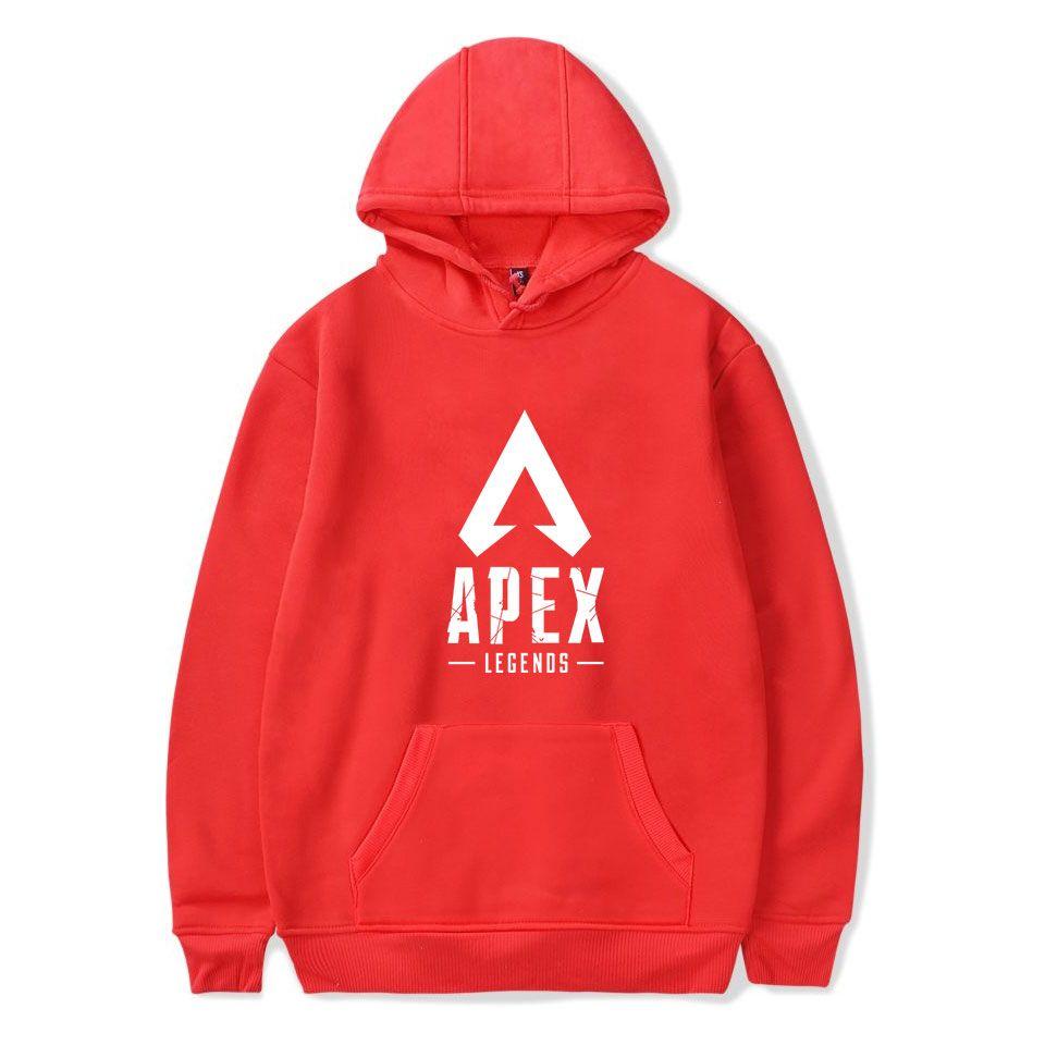 Толстовка с капюшоном Akex Lepends Legends Hot Game 2019 Новый стиль Толстовки с капюшоном Apex Legends Повседневная кофта для мальчиков