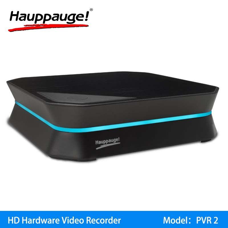 Hauppauge HD PVR2 فيديو recoder كاميرا فيديو CVBS HDMI التقاط مربع بطاقة لعبة فيديو الجري youtube facebook wowza obs