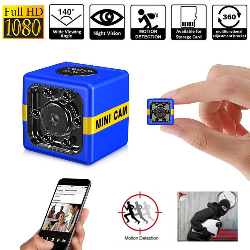 FX01 مصغرة كاميرا HD 1080P للرؤية الليلية كاميرا فيديو dvr الأشعة تحت الحمراء مسجل فيديو الرياضة الرقمية tf بطاقة dv