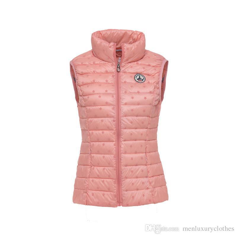 Calentar Casual Abrigos Jott hombres abajo conceden Diseñador invierno sin mangas de la chaqueta Slim Fit Abrigos