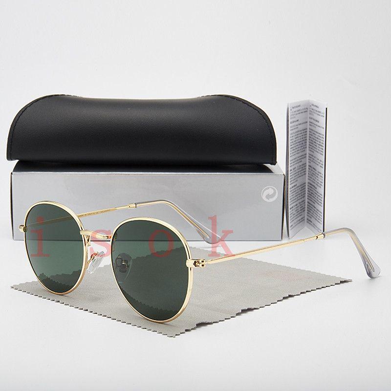 10PCS, 도매 높은 품질의 패션 3447 선글라스 브랜드 남성 여성 디자이너 태양 안경 편광 렌즈 케이스 및 상자와 안경