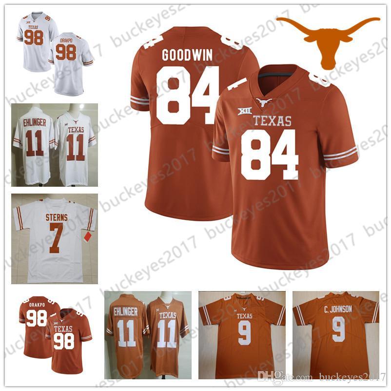 Brian Orakpo Texas Longhorns Football Jersey - Orange