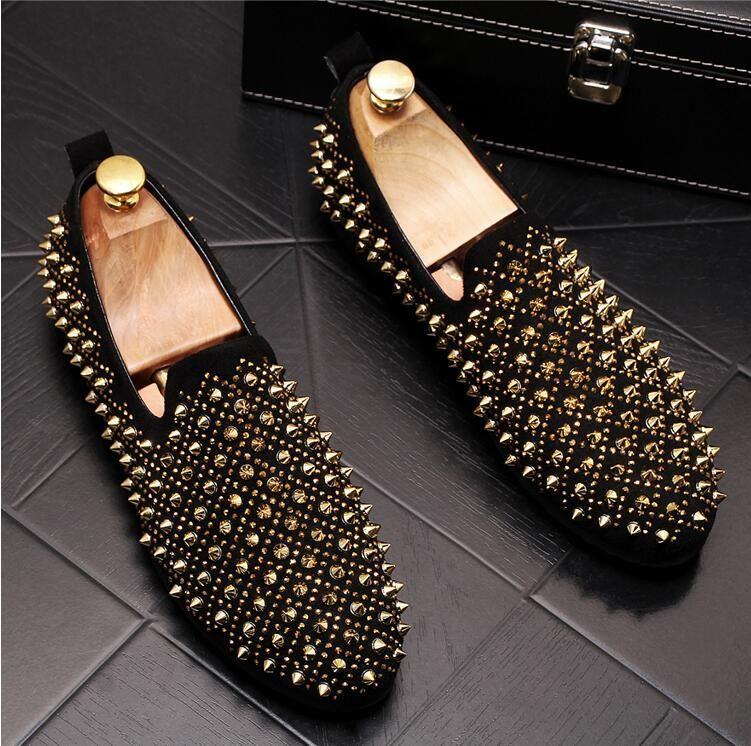 Luxury Designer Shoes Mens Casual Flats