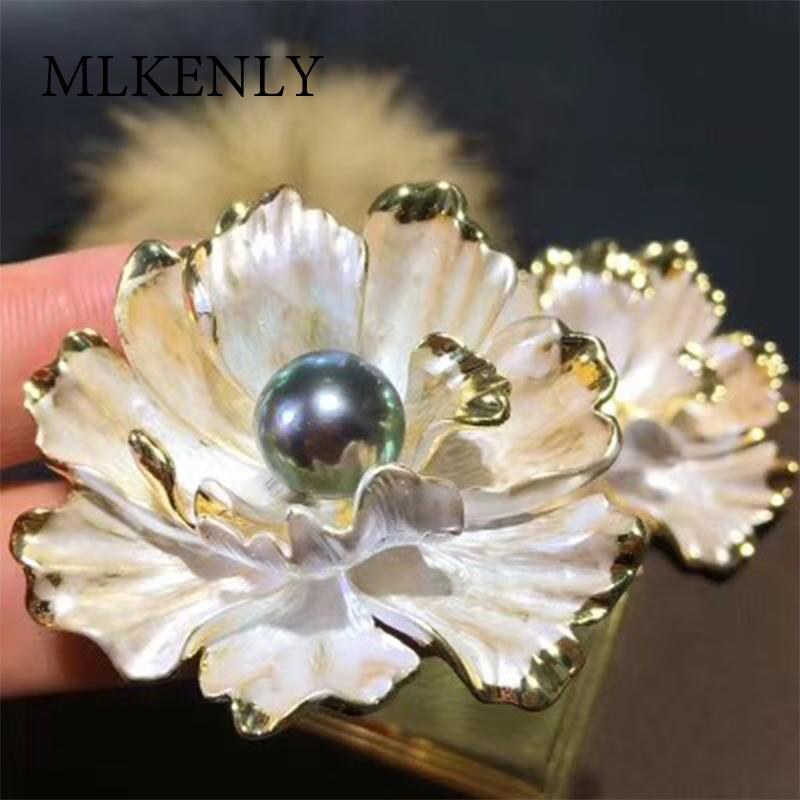 SHANICE Luxury Flower Brooches For Women Wedding Bouquets Clip Scarf Buckle Hijab Pins Purple Stones BroochWedding Accessory