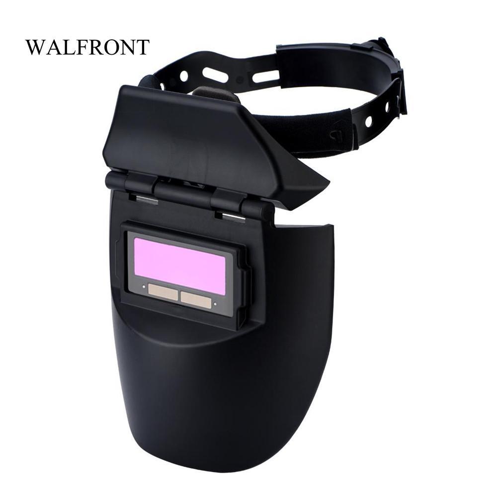 Freeshipping Solar Auto-Darkening Welding Helmet Electric Soldering Mask Welder Goggles Shading Cap Eyes Protector Polishing Lens