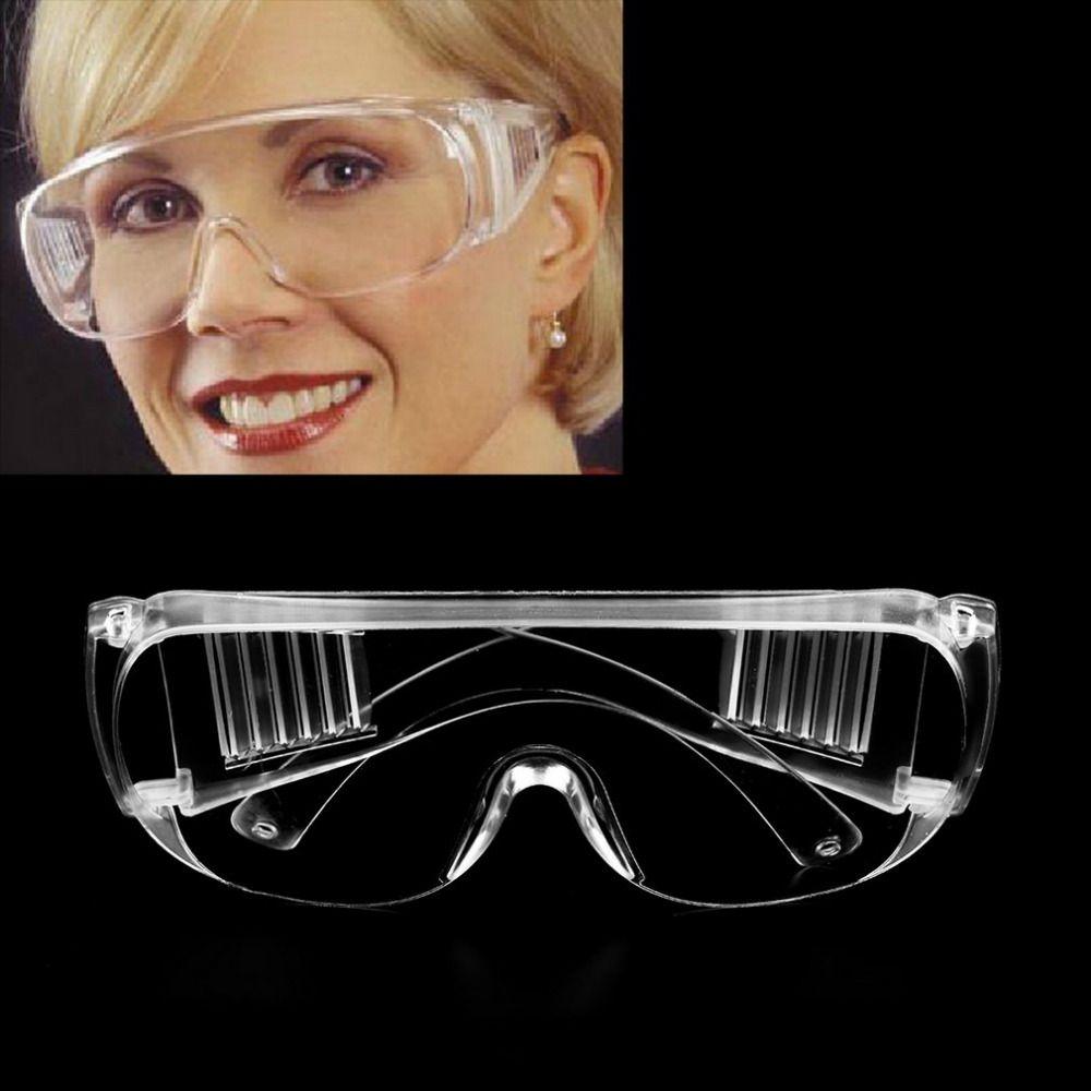 Outdoor Limpar óculos de segurança no local de trabalho Protecção dos olhos Usar Trabalho de trabalho de protecção Óculos de vento Poeira Anti-fog Ciclismo Óculos