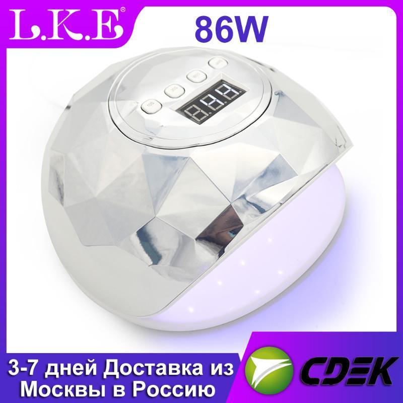 Светодиодная лампа для ногтей для маникюра 86 Вт сушилка для ногтей УФ светодиодная лампа 39 светодиодов машина для отверждения УФ гель лака с автоматическим датчиком